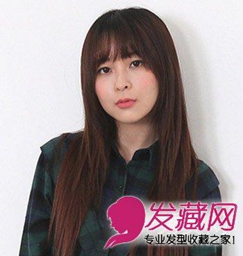 短刘海vs泡面刘海 哪款刘海才是冬季最流行 →荷叶头发型齐刘海清新图片