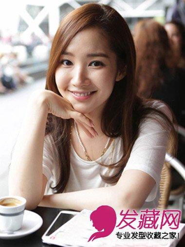 韩国女生换发型变瓜子脸 御姐气质韩式中短发发型(3)