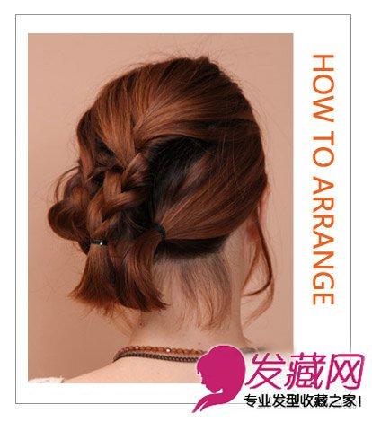 短发怎么盘头发 贤淑有气质的扎发发型(5)