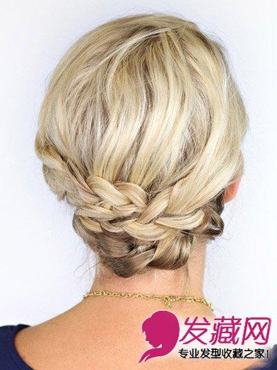 短发可以扎什么发型 4款快手编发教程出门超 →长发不如短发好看?图片