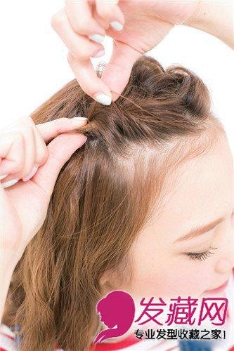 时髦公主头发型 →半扎公主头&侧编发 最新的公主头扎发发 →赵丽颖扎