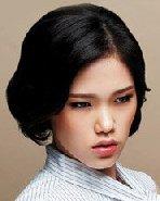 韩式扎发DIY教程 长发变短发的3种扎法