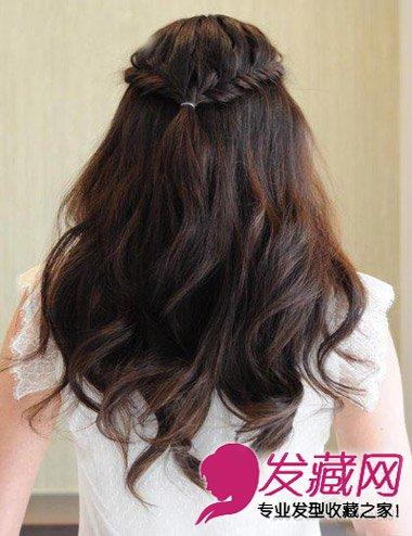 发型网 女生发型 女生长发发型 > 长发怎么扎好看 女神气质的编发步骤