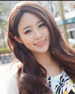 侧分大卷长刘海发型完美修颜 长发短发随心变