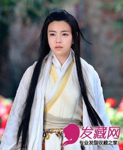 陈妍希�9g�[�xZ_陈妍希刘亦菲 各版小龙女古装发型谁最仙(4)