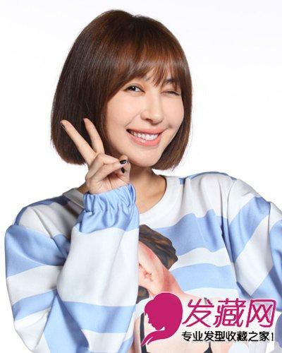 唐嫣刘诗诗 明星齐肩短发发型(5)