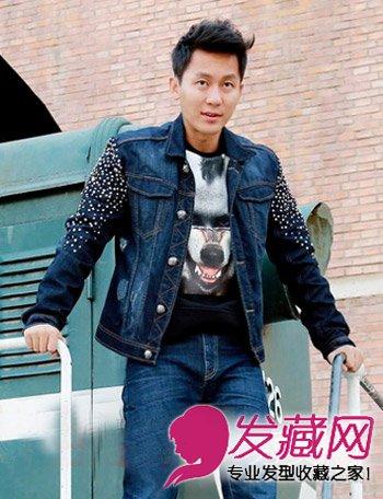 时尚的韩式欧巴发型 时尚飞机头发型 →圆脸男生适合的发型 清秀年