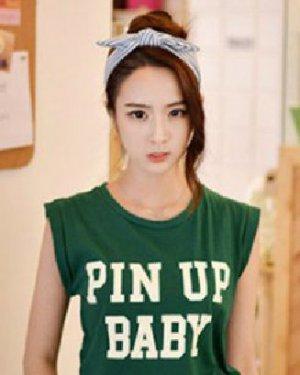 简单的韩式花苞头扎发发型 韩式9款甜美减龄图片