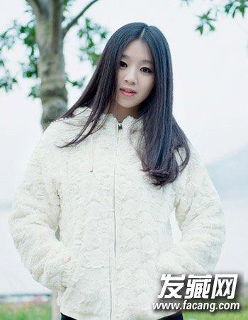 时尚百搭的中长发 可爱的女生长卷发发型(7)