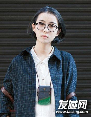 女生剪什么发型好看 柔顺的学生短发发型(4)
