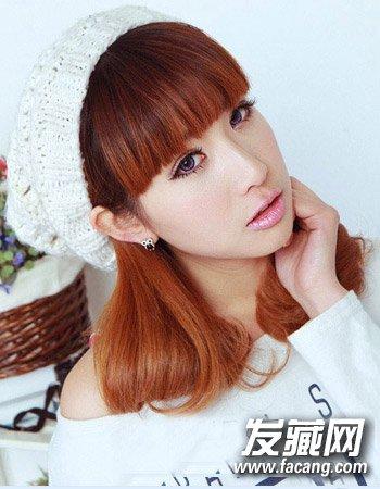 冬季最新烫发发型 清爽时尚的公主头发型(3)图片
