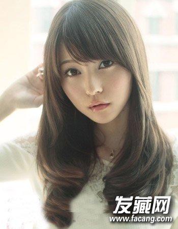 冬季最新烫发发型 清爽时尚的公主头发型(9)图片