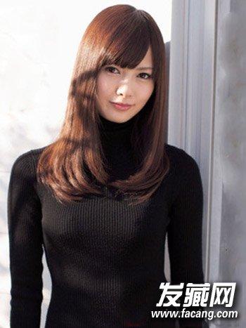 ol日常必学简单中长卷发烫发 新款韩式齐肩烫发(8)