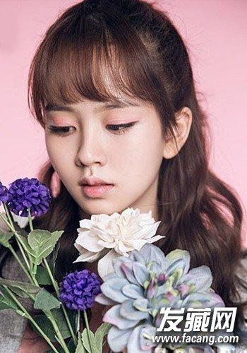 杨紫徐娇发型 中韩童星身变女神(7)图片