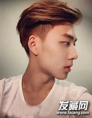 韩式男生短发发型 塑造文艺男青年气质形象(7)图片