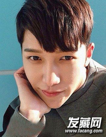 韩式男生短发发型 塑造文艺男青年气质形象(4)
