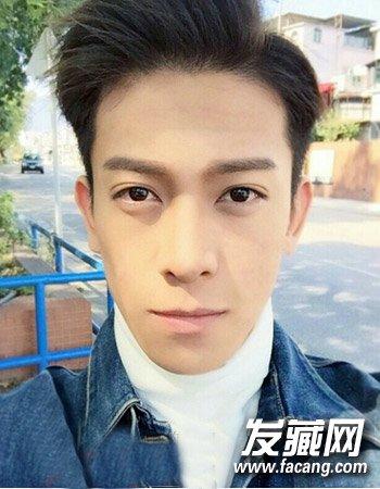 韩式男生短发发型 塑造文艺男青年气质形象(9)
