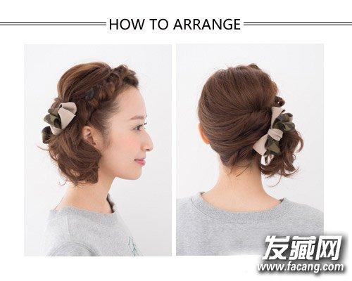 短发怎么扎好看 齐肩的中短发发型可爱甜美(5)
