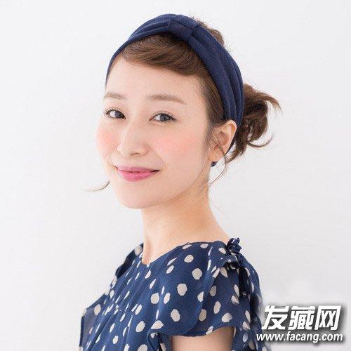 短发怎么扎好看 齐肩的中短发发型可爱甜美(6)