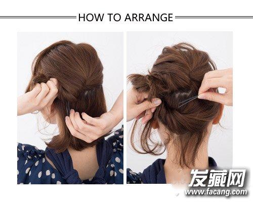 短发怎么扎好看 齐肩的中短发发型可爱甜美(8)
