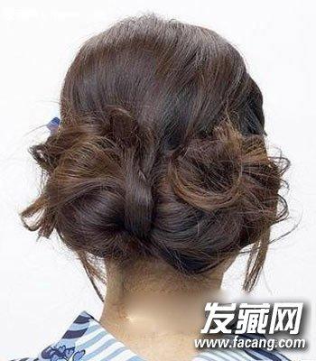 超美森女系编发发型图解 5分钟搞定3款森女发型(7)
