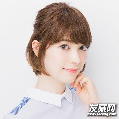 →学韩国女生剪短发发型