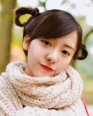 女生甜美发型扎法 可爱的小脸妹子发型