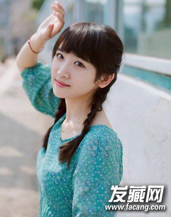 大学生最爱清纯发型设计 矮个mm显高更时尚(5)