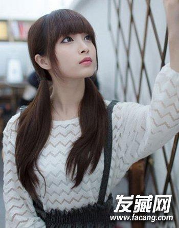 大学生最爱清纯发型设计 矮个mm显高更时尚(9)