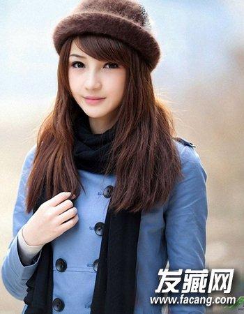 清新校园直发发型 清纯直发最萝莉(4)