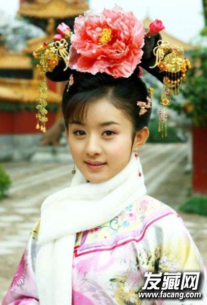 江疏影跑男发型      女星赵丽颖,一长小圆脸在现在可是很讨喜呢,在新