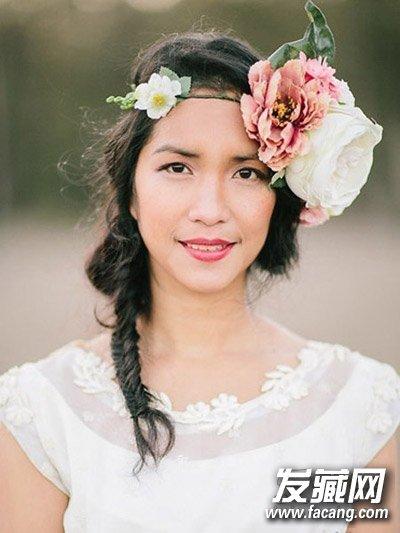 发型网 女生发型 新娘发型 > 蔡依林林心如mv婚纱照 新娘发饰学起来(6图片