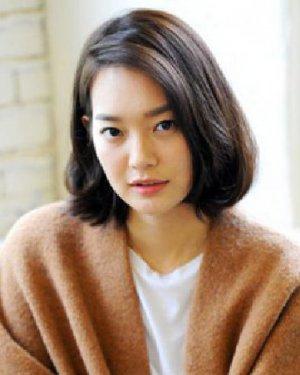 胖女生适合韩式中短发发型 韩式短发超显瘦