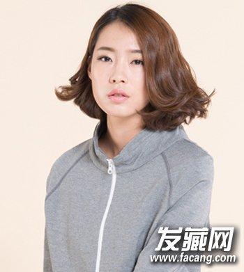最新发型与发色搭配 专为小脸女生准备 →除了波波头 脸大的女生留图片