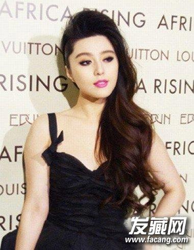 发型网 女生发型 女明星发型图片 > 范冰冰张雨绮示范 微胖女生时尚图片