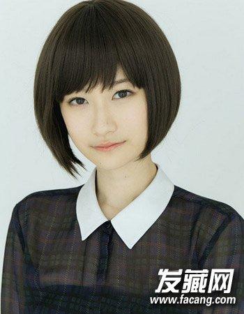 女生最新发型设计 发型与脸型搭配完美修颜(4)图片