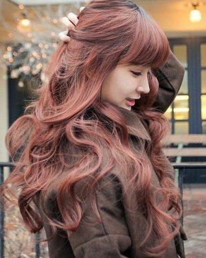 女生个性炫丽烟花烫发型
