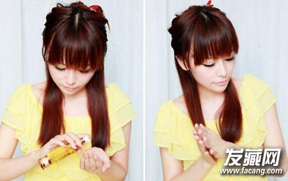 卷发棒怎么卷梨花头发型 简单弄出甜美梨花头