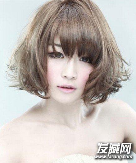 2013短发梨花头发型图片2