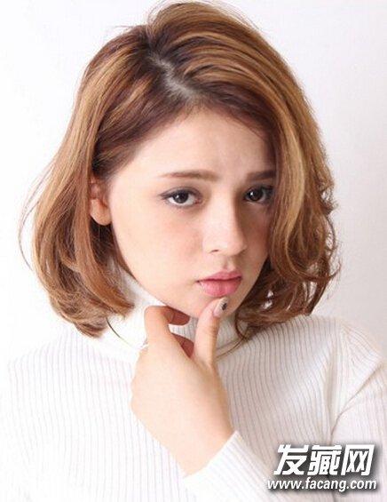 【图】内扣短发梨花头 修颜减龄必备(3)_短发发型图片图片