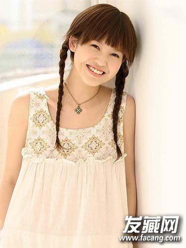 《重返20岁》杨子珊发型 内扣梨花头俏皮可爱(9)图片