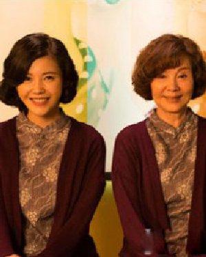 杨子珊卷发美翻 重返20岁PK韩版奇怪的她