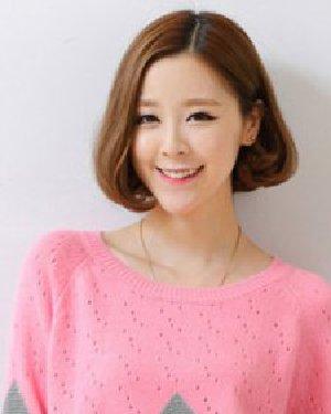 可爱甜美风的韩式无刘海发型 9款发型有气质