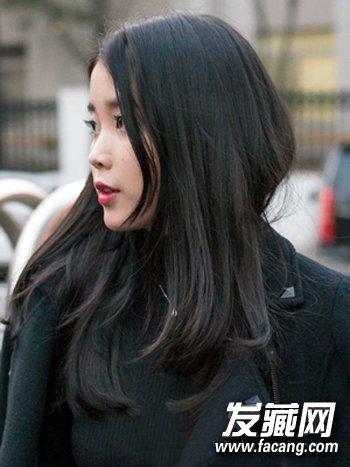 【图】中长直发是mm的最爱发型图片