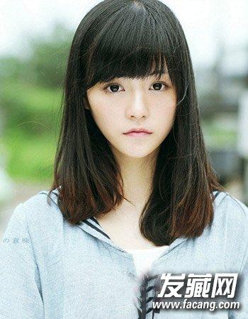 【图】简单中长发发型 唯美十分森女风造型(3)_女生