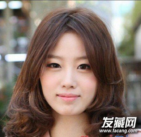 齐刘海波波头发型 适合方脸型女生的发型(3)