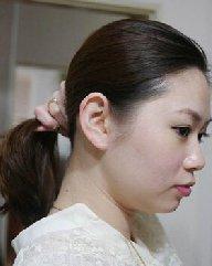 韩式中长发扎发 冬季韩式发型中长发扎发