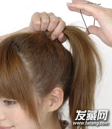 中长发发型简单扎法7图片