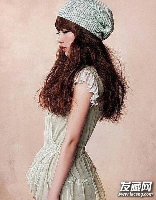 MM们最新潮流长发染发发型图片