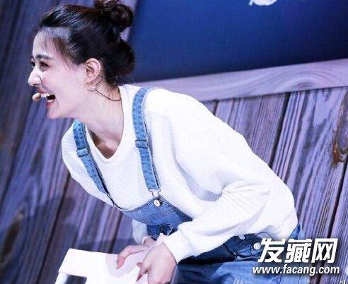 90后新生代女演员徐璐清纯可爱发型